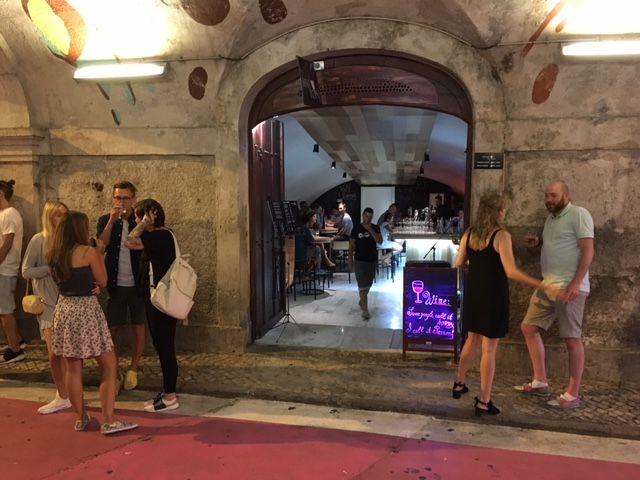 Pink Street. Lisbon. Epic nightlife centre.