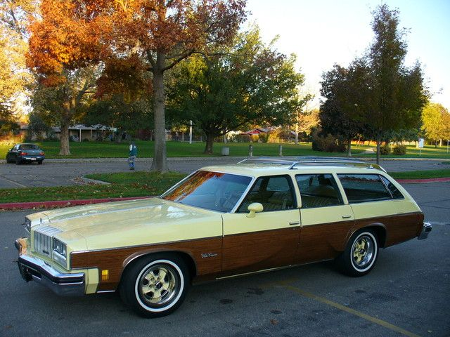 My family had this model, 1977 Oldsmobile Vista Cruiser, but the