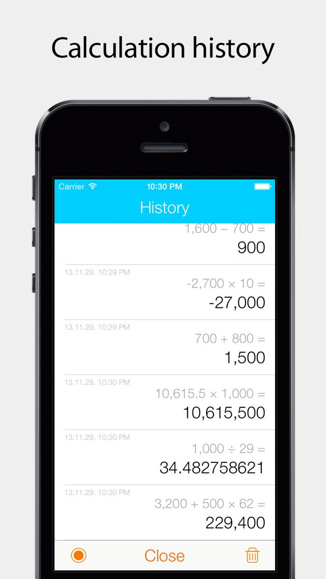 Basic Calc Pro For Ios7 Focusing On The Most Basic Calculation System Iphone Apps Samsung Galaxy Phone Galaxy Phone