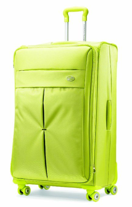 4bd610d919 Amazon.com: American Tourister Luggage Colora 25-Inch Spinner Bag,  Raspberry, 25-Inch: Clothing