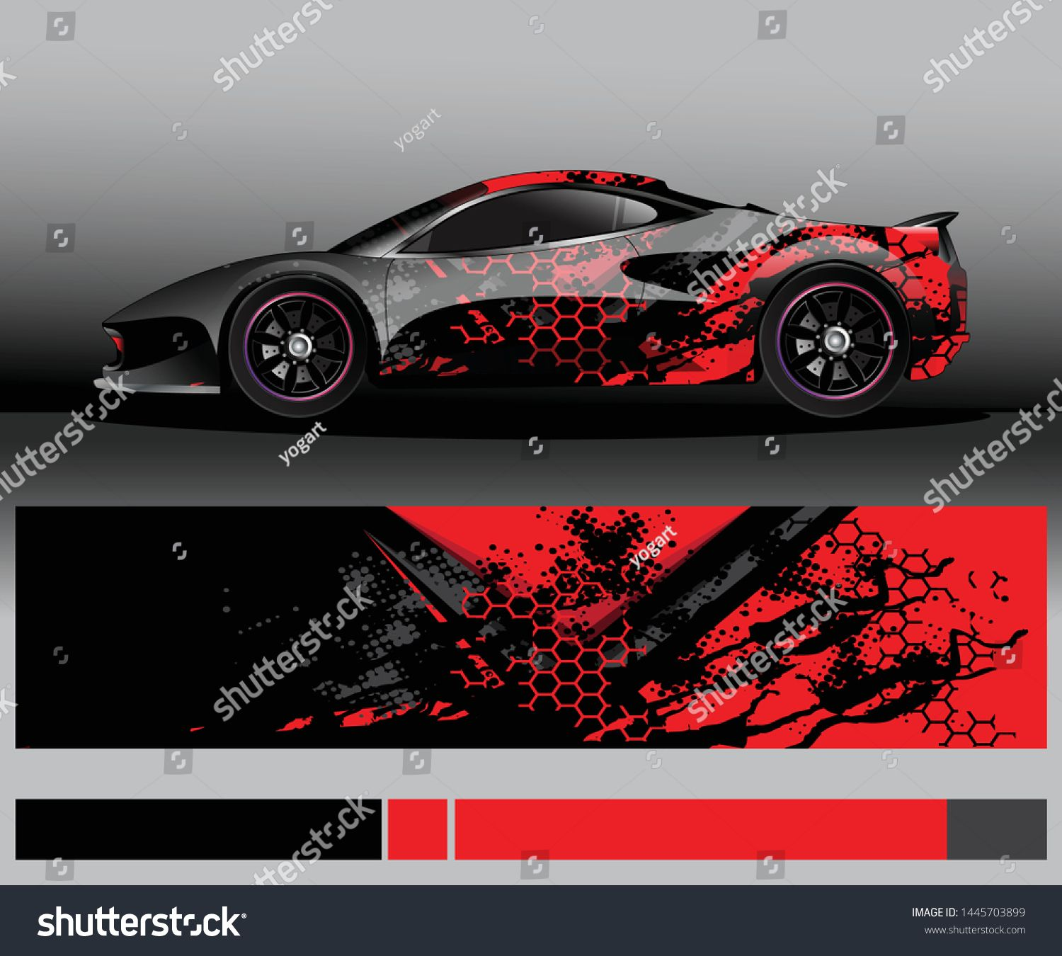 Sport Car Decal Graphic Wrap Vector Abstract Background Racing Car Design Car Iphone Wallpaper Car Graphics