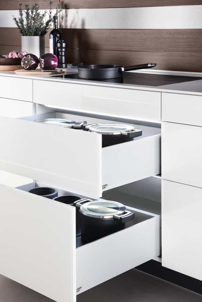 kitchen accessories design%0A Poggenpohl accessories  Drawer and Pullouts with LED lights  poggenpohl   kitchen