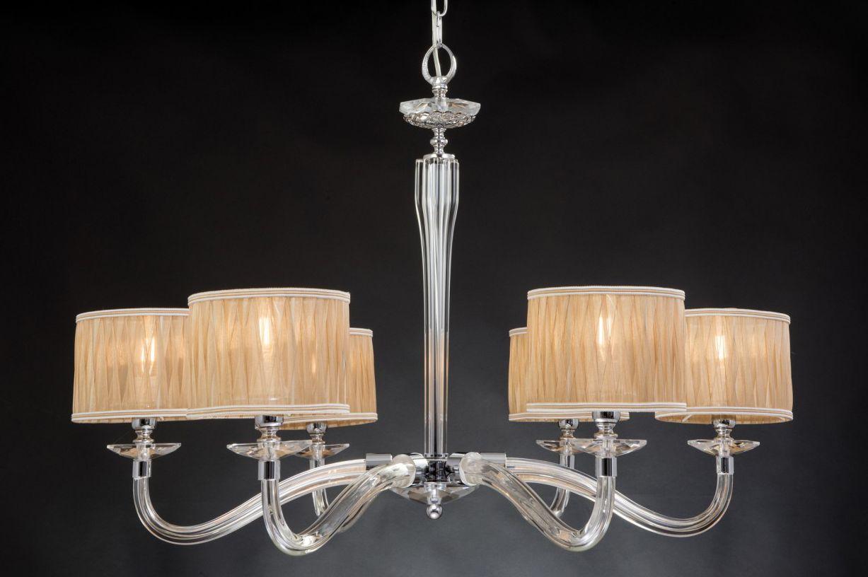 Lampadario Bianco E Cristallo : Lampadario moderno in cristallo luci design swarovsky santorini