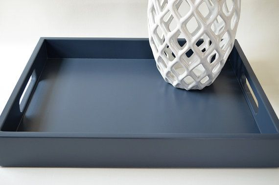 Coffee Table Tray Serving Tray With Handles Ottoman Tray