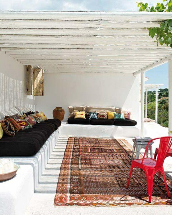 berdachte terrasse 50 top ideen f r terrassen berdachung pinterest berdachte terrassen. Black Bedroom Furniture Sets. Home Design Ideas