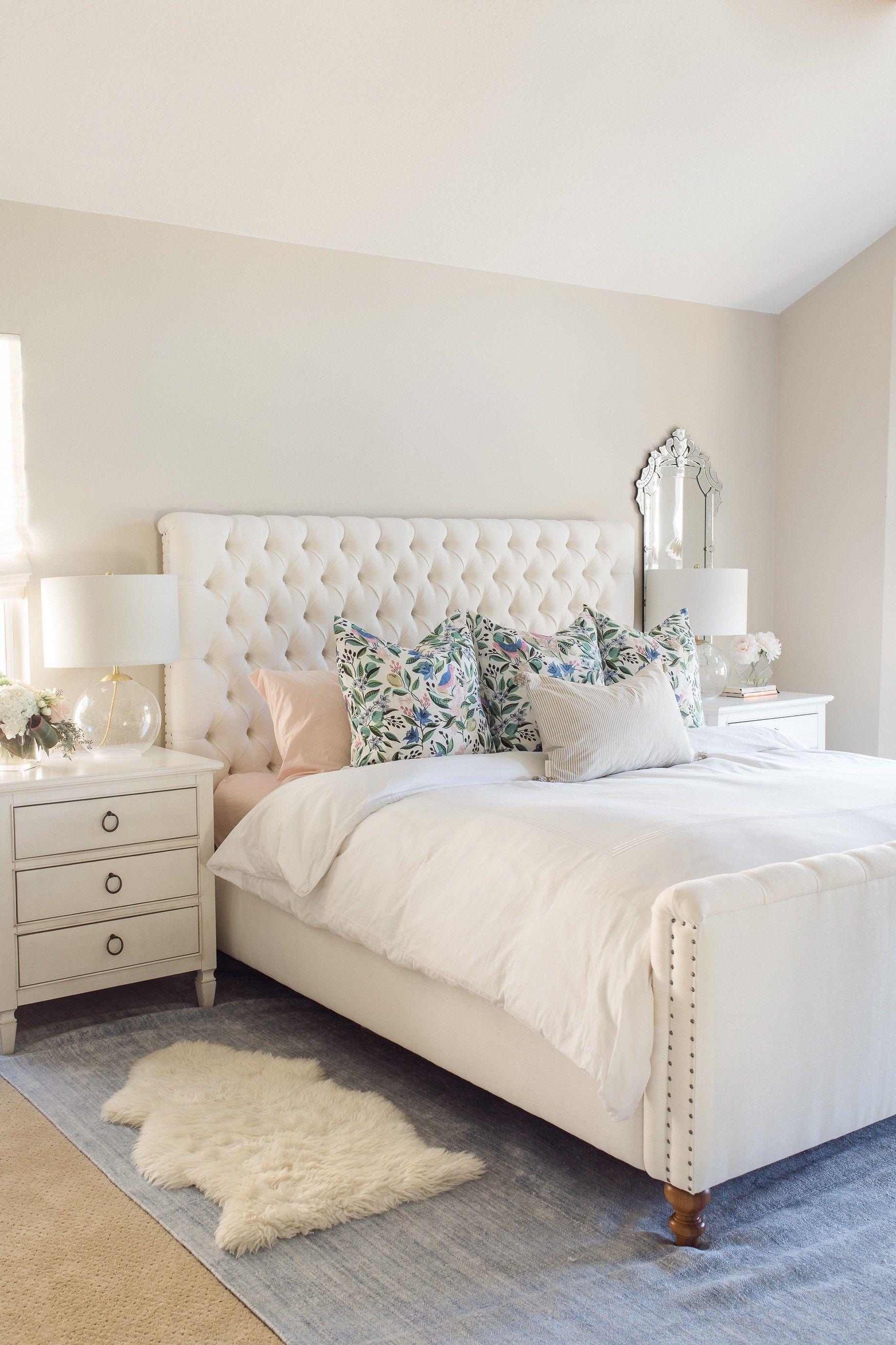 My Bedroom Decor Reveal M Loves M Dormitorios De Matrimonio Modernos Decorar Dormitorio Matrimonio Decoracion Dormitorio Matrimonio