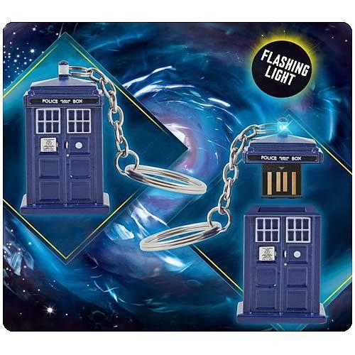 Doctor Who TARDIS 4GB USB Memory Stick