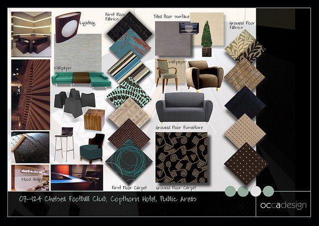 Interior Design Fabric Presentation Boards Interior Design