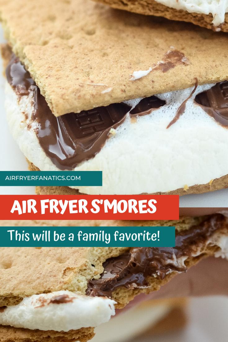 Easy Air Fryer S'mores (Ninja Foodi Recipe) Air Fryer