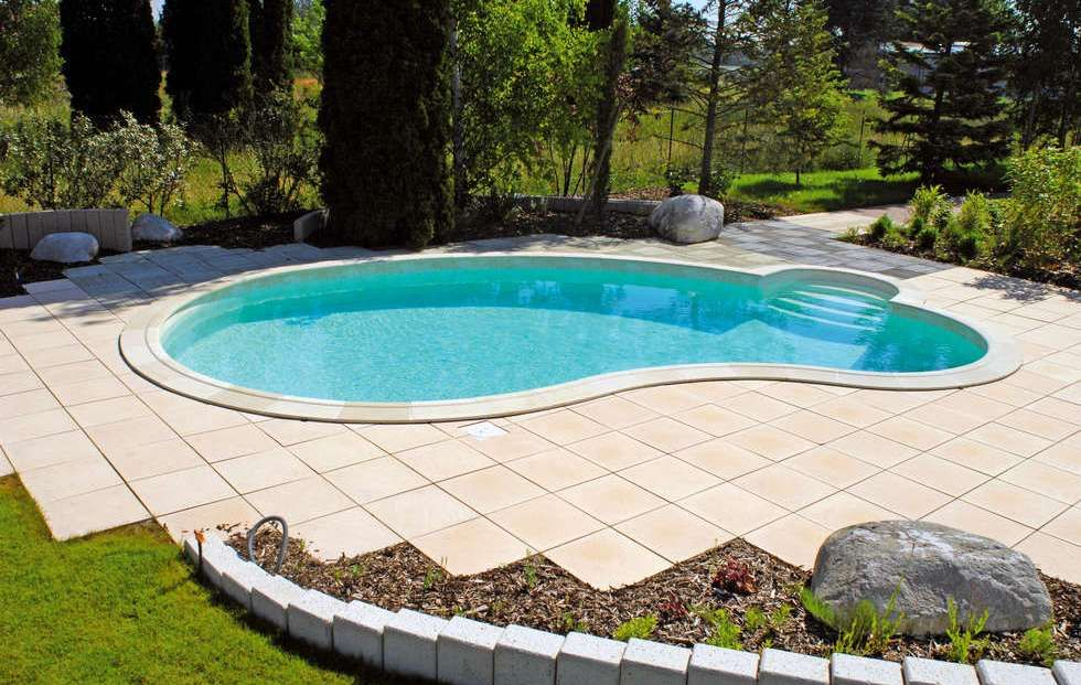 Piscine waterair c line avec escalier paso jardim for Wateraire piscine