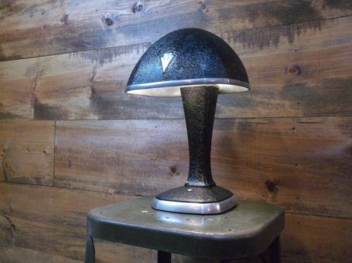 Rare Vintage Hobart Art Deco Table Lamp Cast