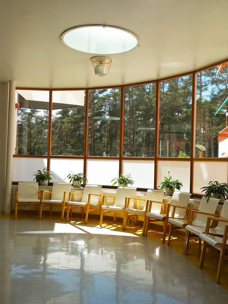 paimio sanatorium interior - Поиск в Google