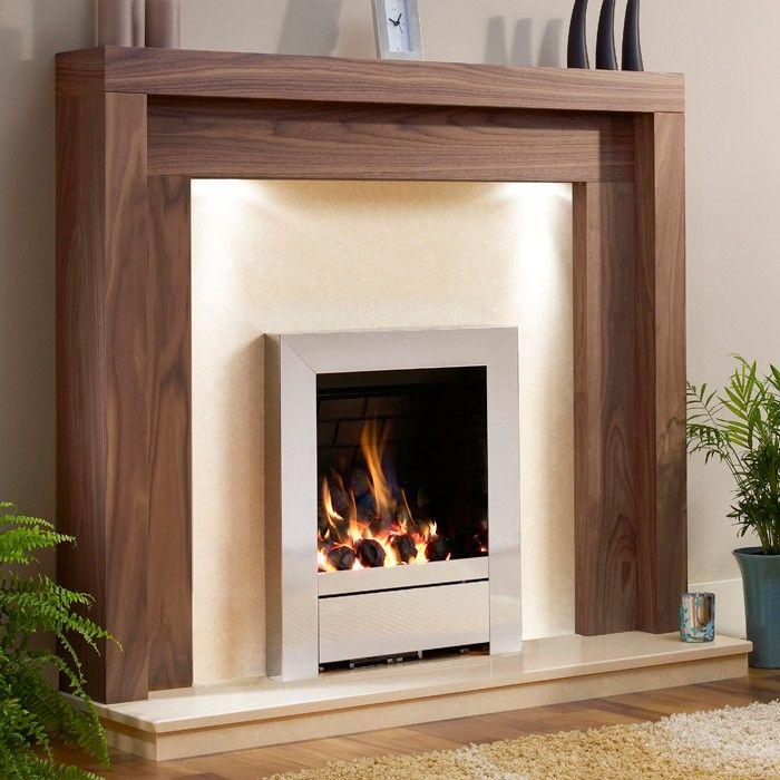 Be modern kansas wooden fireplace suite