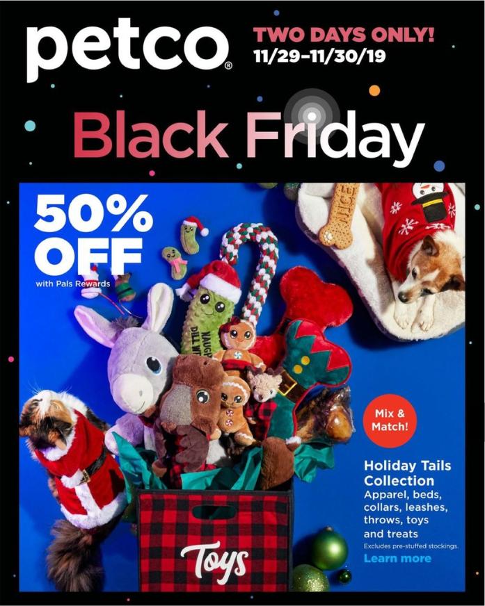 Petco Black Friday 2019 Ad Is Live Black Friday Petco Black Friday 2019