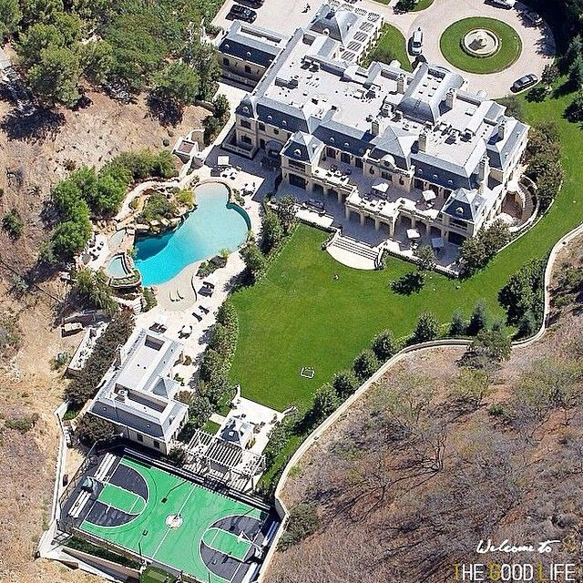 Mark Wahlbergs Completed 30,000 Sq Ft Mansion