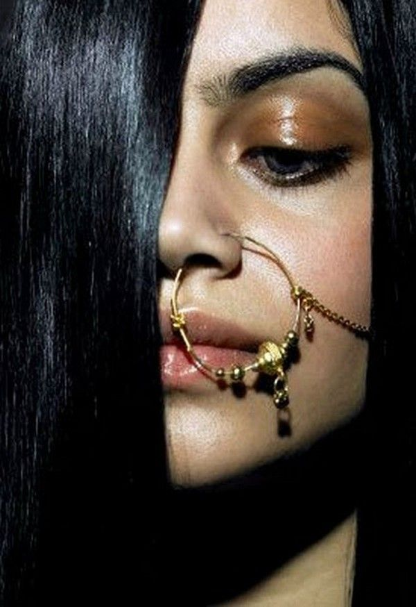 a71109316 TRENDY NOSE RING NOSE PINS FOR YOUNG GIRLS-1 | Indian Ethnic Wear ...