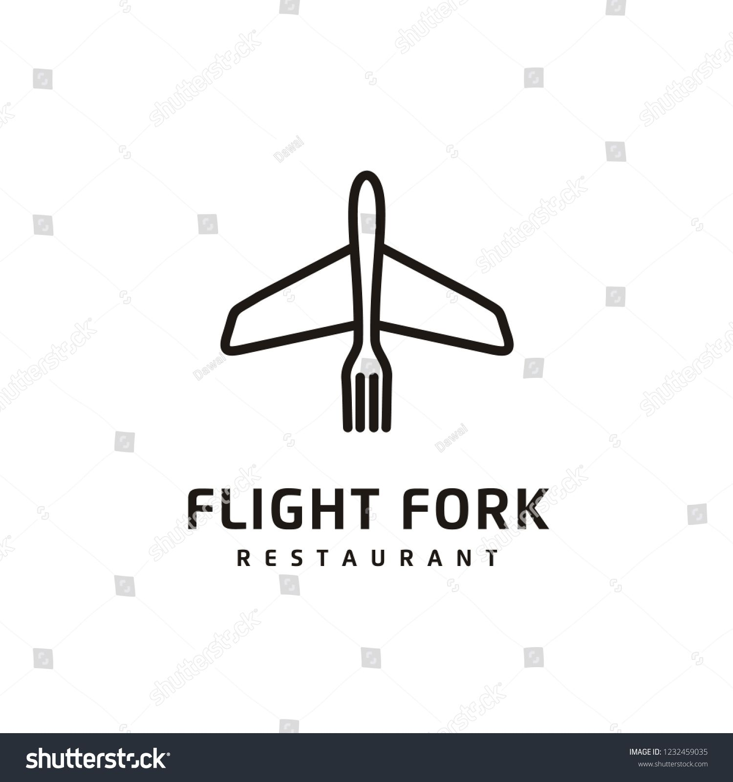 Minimalist Outline Food And Plane Logo Design Sponsored Affiliate Food Outline Minimalist Design Logo Design Outline Minimalist Design