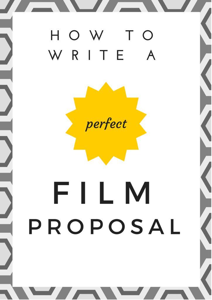 writing a film proposal