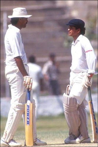 Century No 5 165 Vs England Chennai 1993 Sachin Tendulkar Cricket Bat Sports