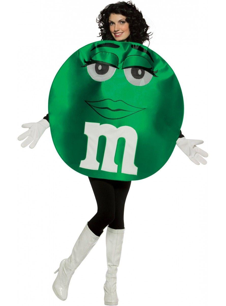 costume de m ms vert haut de gamme adulte les plus amusants. Black Bedroom Furniture Sets. Home Design Ideas