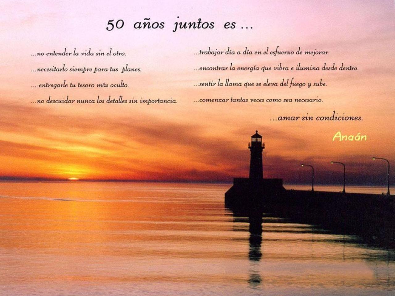 Poema Escrito Para Regalar En Celebración De Las Bodas De Oro De Silvia Y Valero Bodas De Oro Bodas Vida