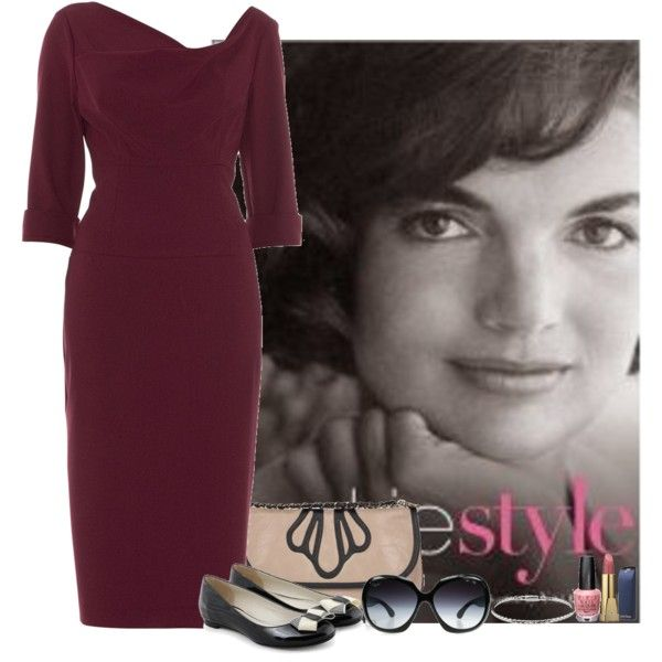 JACKIE STYLE, created by sasoula on Polyvore