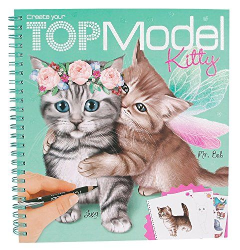 Album Coloriage Top Model Modèle Create Your Kitty Chat