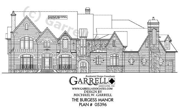 Garrell Associates, Inc.Burgess Manor House Plan # 05396