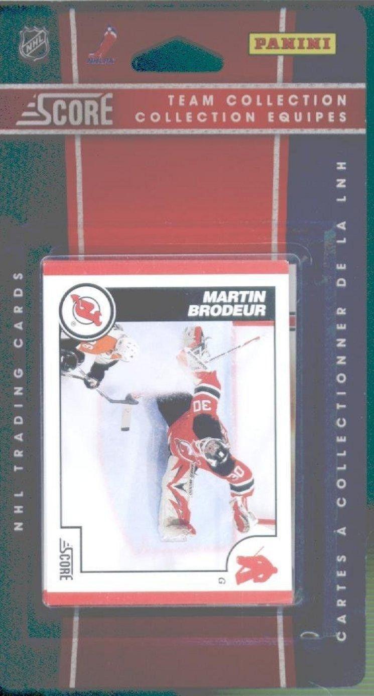 201011 Score NHL New Jersey Devils Set