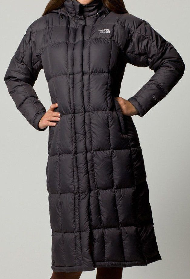 52928911f North Face 700 Rated Long Goose Down Puffer Trench Triple C Coat ...
