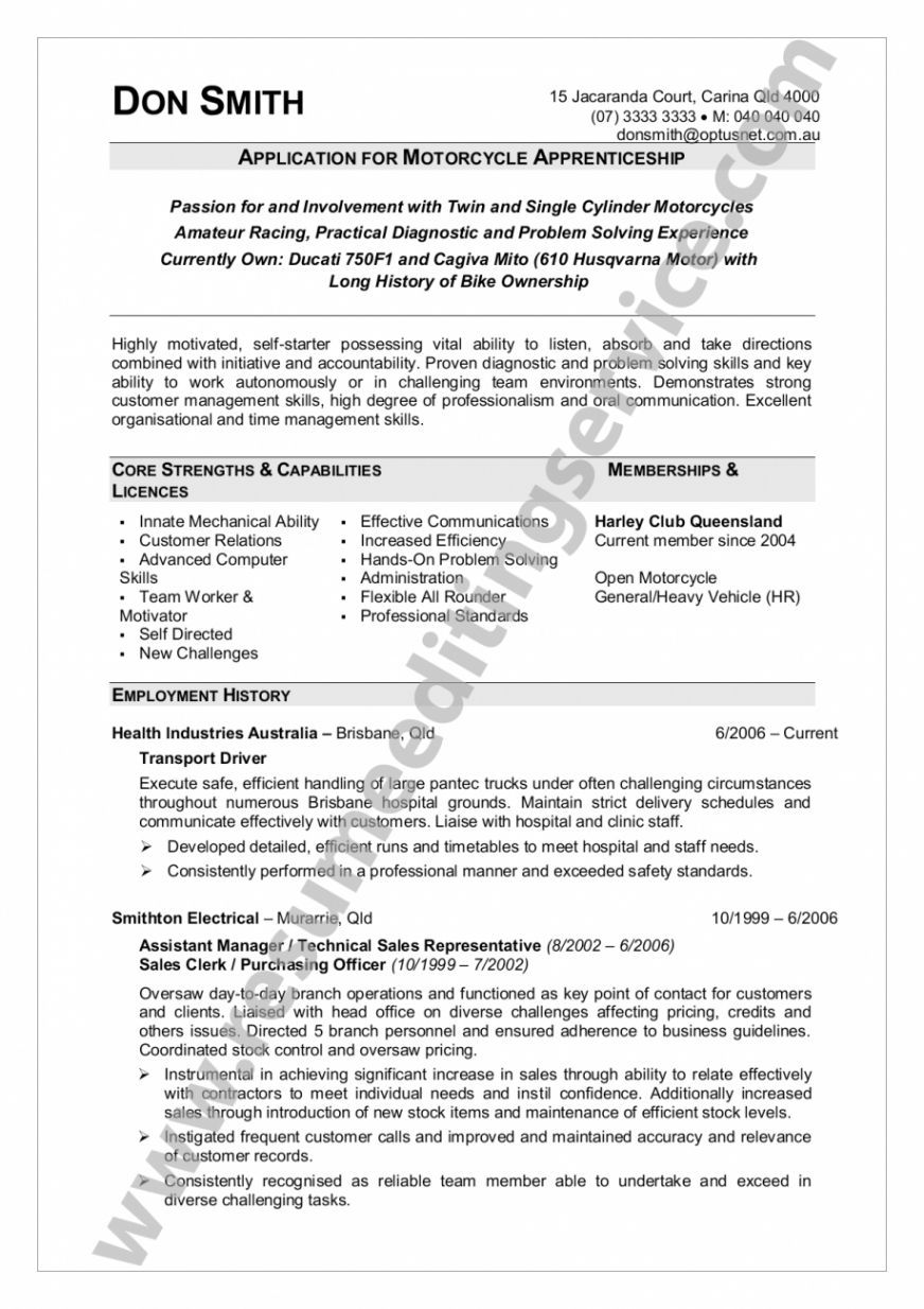 Cv Template Queensland Health Resume Objective Statement Resume
