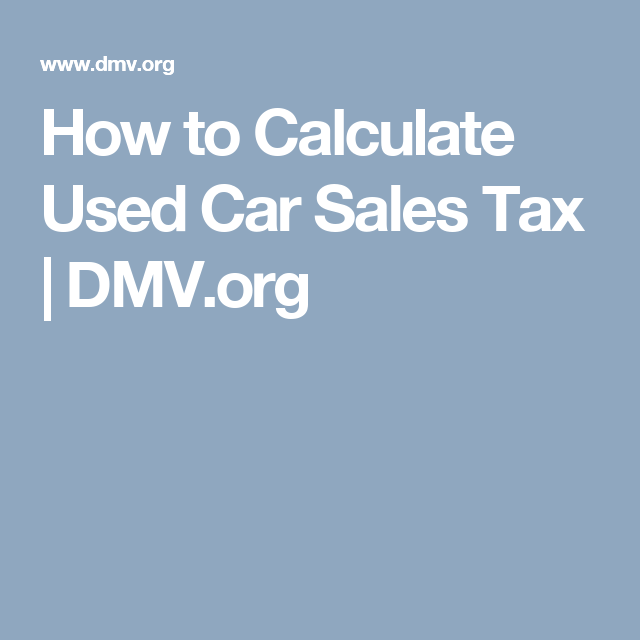 How to Calculate Sales Tax and Vehicle Registration Fees in Wyoming