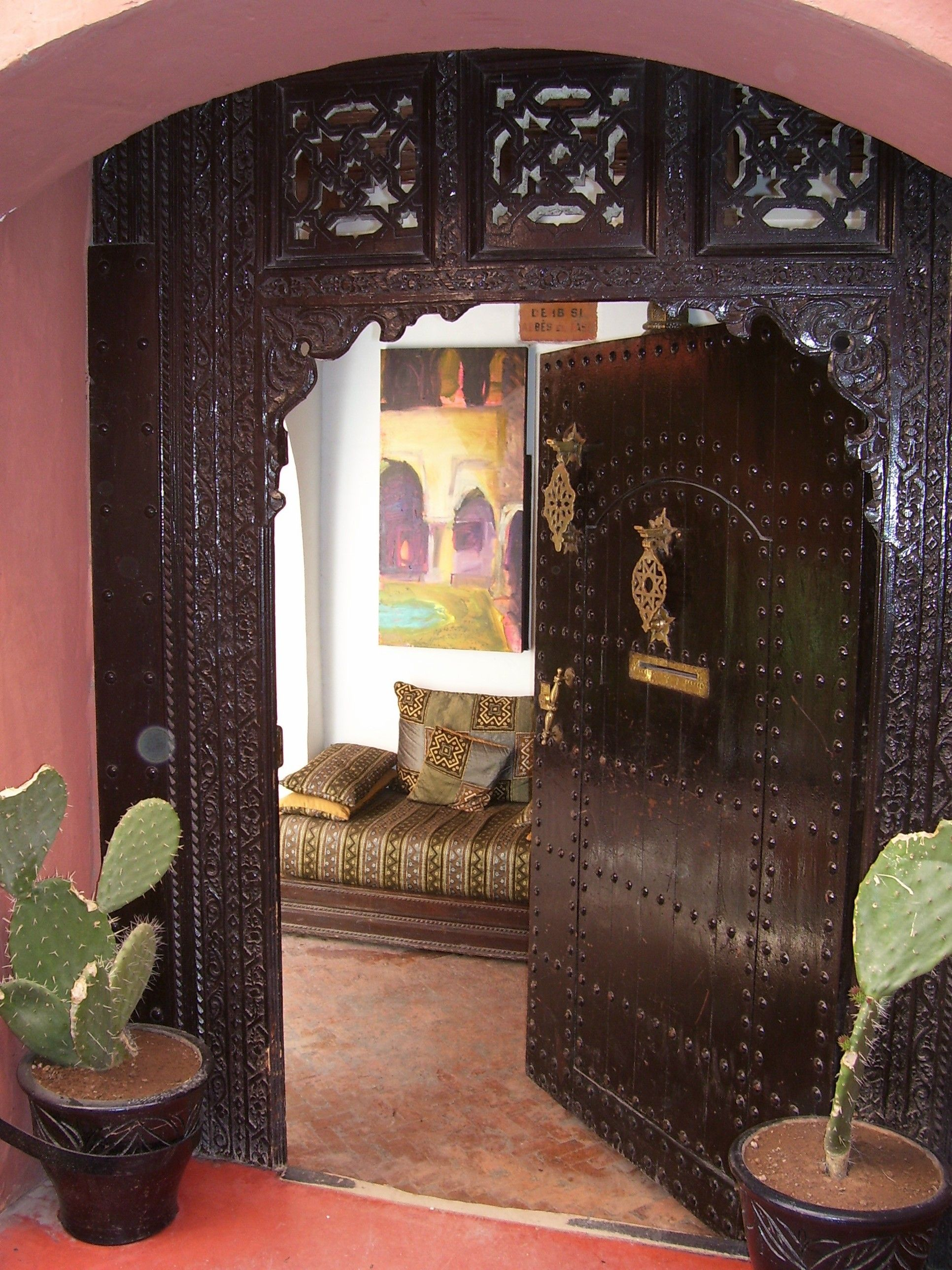Boho Style >> Love That Doorway