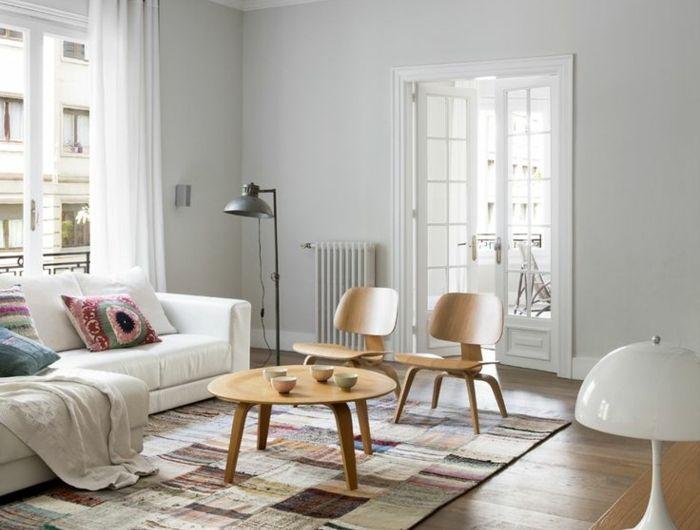 Choisir Le Meilleur Tapis Scandinave Avec Notre Galerie Tapis Scandinave Style Deco Mobilier De Salon
