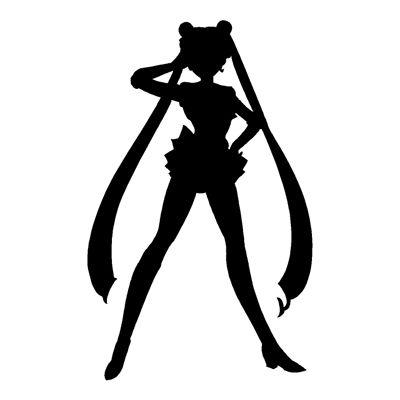 Sailor Moon Silhouette Outlines Art Ideas Sailor Moon