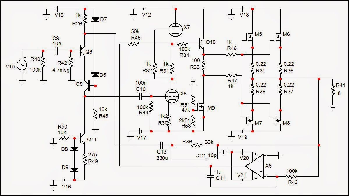 Afbeeldingsresultaat Voor Fet Headphone Amplifier Power Lifier Circuit Schematic