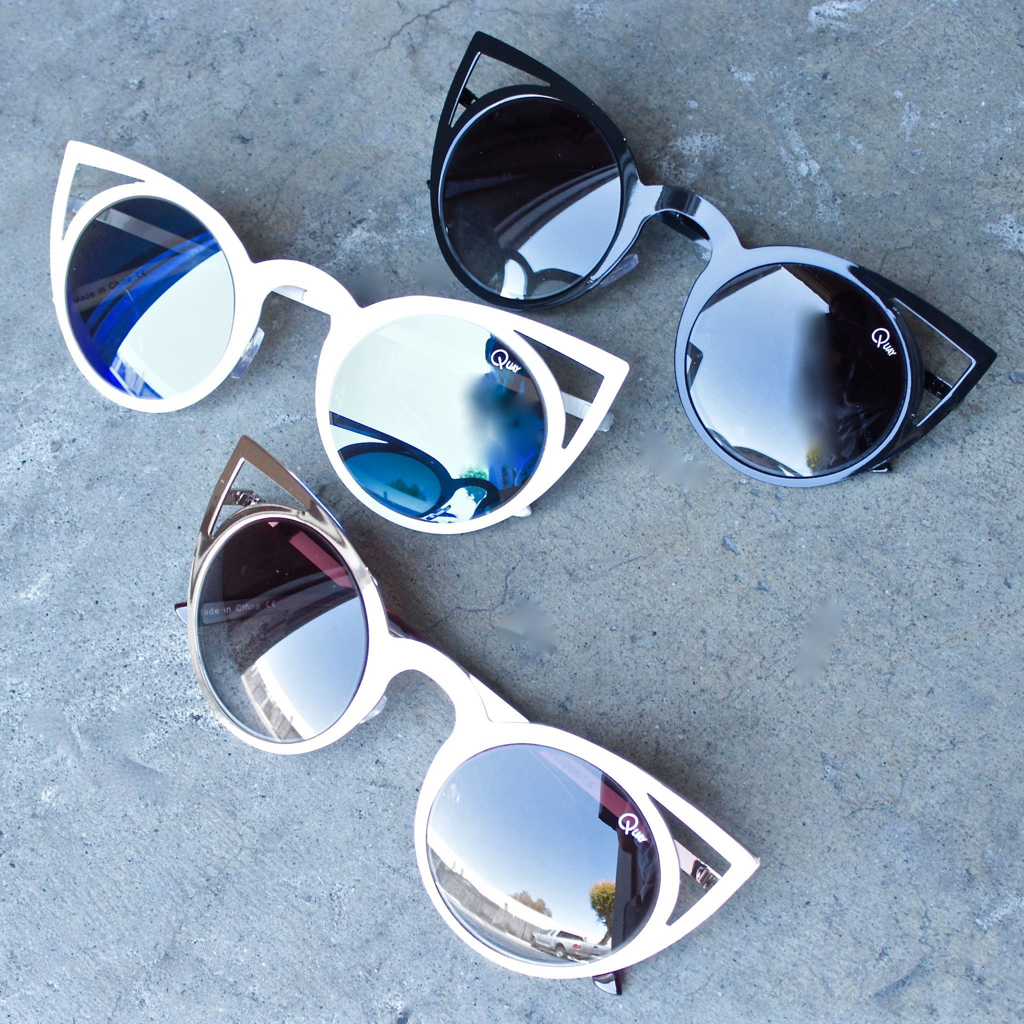 Final sale - quay invader sunglasses (4 colors). Quai Des Lunettes De Soleil  ... 900a942817a9