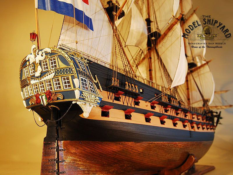 De Delft Model Ship / Saved by Stephen Lok  ~END~