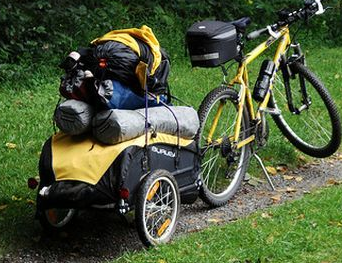 Turn Your Bug Out Bike Into An Electric Assist Use My Affiliate Discount Code Livinglight Bike Camping Bike Trailer Bicycle Cargo Trailer