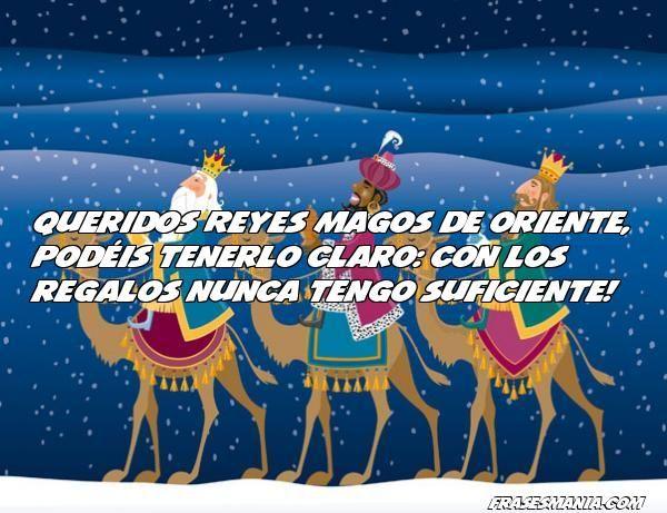 Felicitaciones De Navidad Con Los Reyes Magos.Queridos Reyes Magos De Oriente Oraciones Feliz Dia