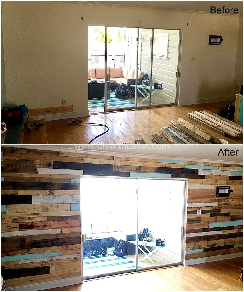 DIY Furniture with Pallets #oldpalletsforcrafting