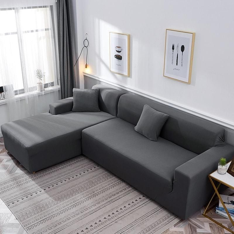 Dark Grey Waterproof Sofa Cover The North Alley In 2020 With Images Sofa Grey Couch Covers Gaming Sofa