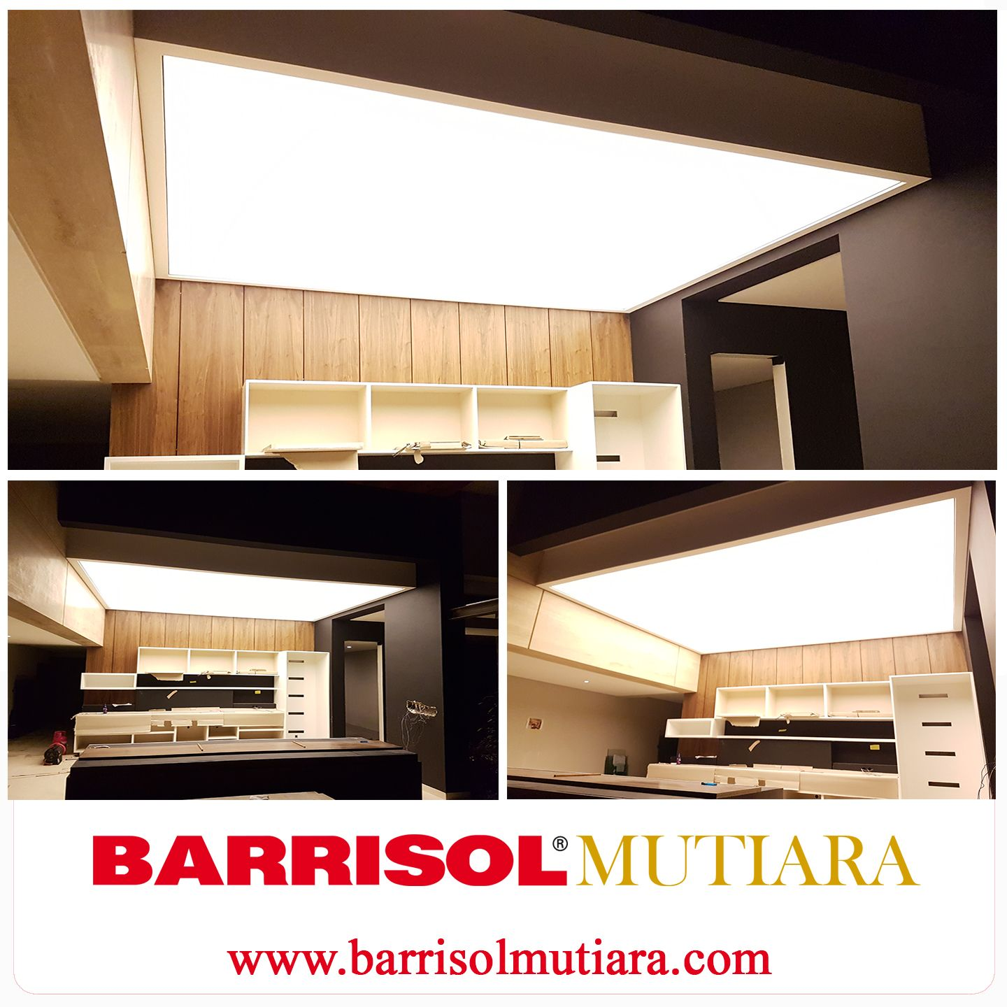 Barrisol Light Feature In The Dinning Room At A Private