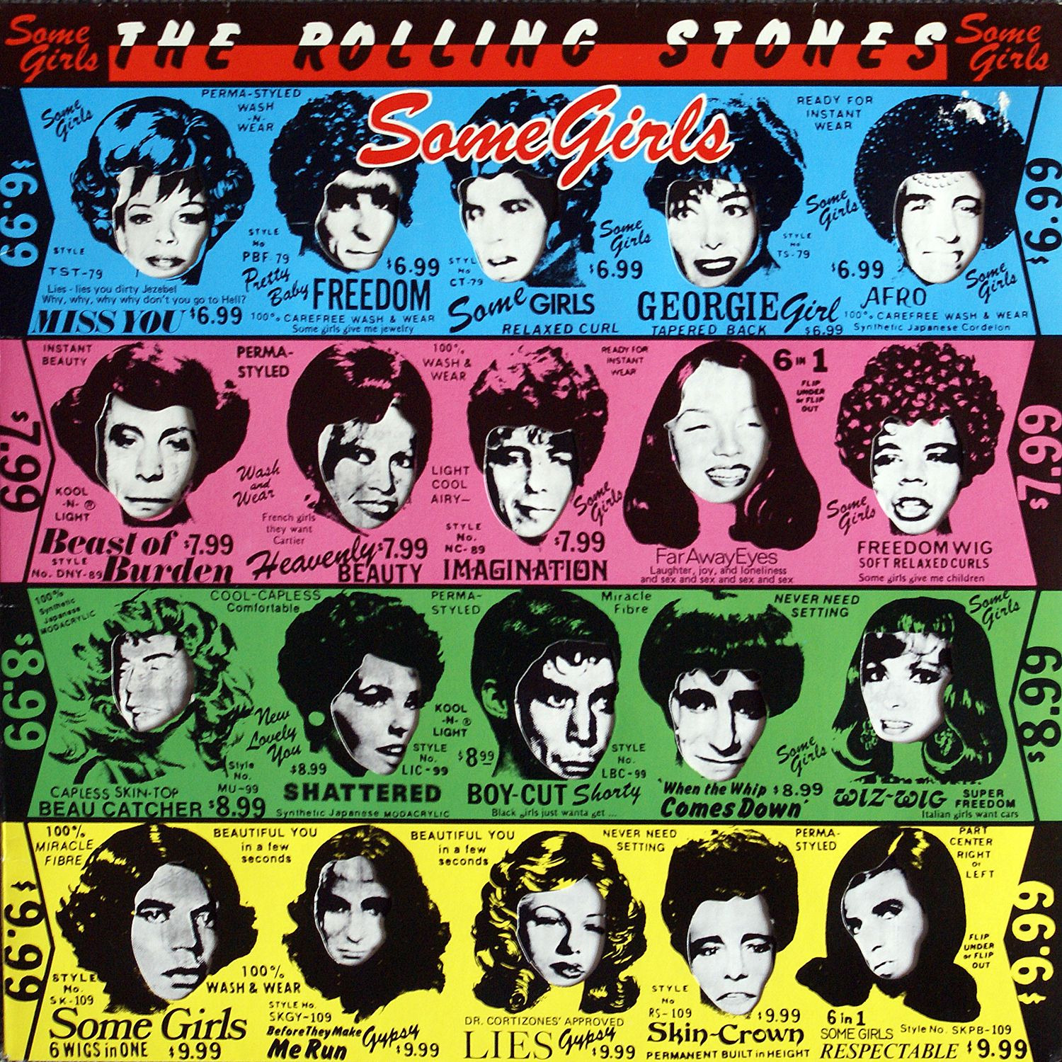 Rolling Stones Some Girls Cool Rolling Stones Albums