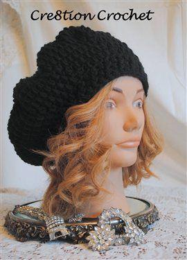 """""""Miranda"""" Adult Slouch Hat Pattern - Crochet Me"""