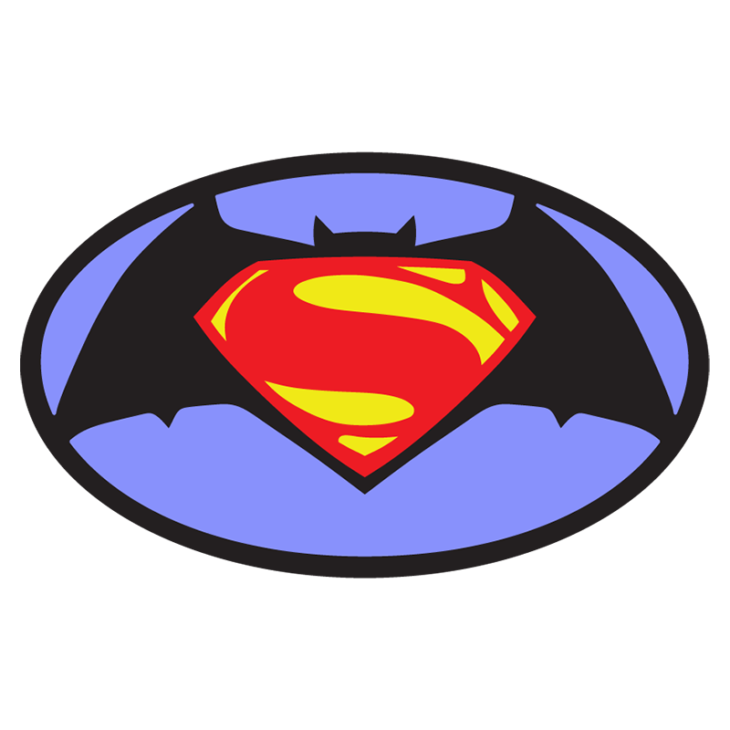 Superman Symbol Logovectors Stencil Silhouette Design Laser