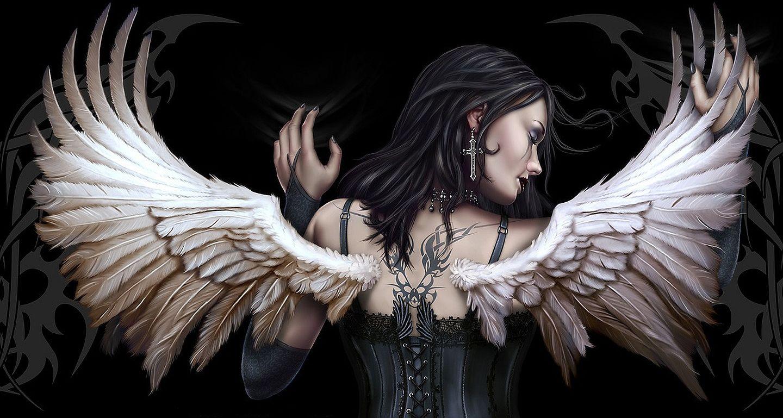 Angel Of Darkness Porn beautiful dark angel wallpaper   dark angel wallpaper