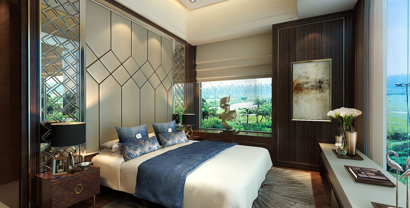 Lippo Village Show Flat with a golf view in Tangerang