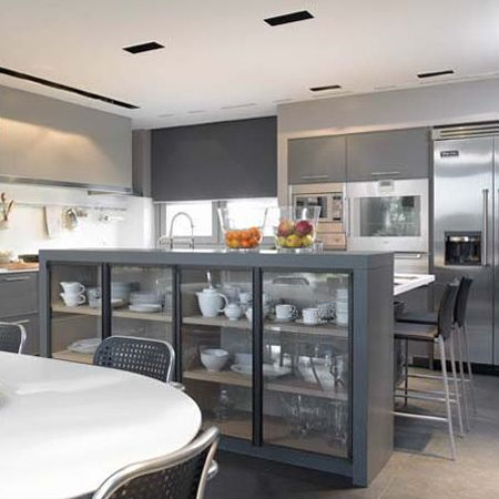 Newest Kitchen Designs Closing Off An Openplan Kitchen Or Semi Openplan Kitchen Design