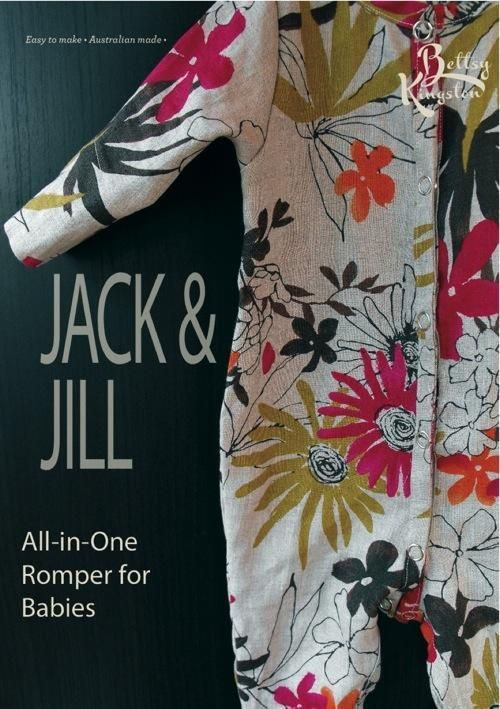 Baby Jack and Jill Romper | Rompers, Romper pattern and Sewing patterns